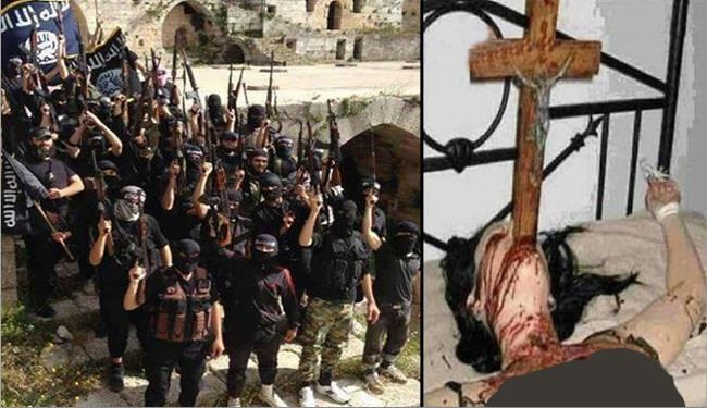 استغاثة مسیحیي غرب سوريا بالجيش لانقاذهم من التکفیریين