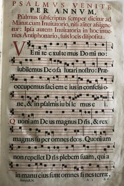 Studiu asupra antifoanelor Liturghiei. Variantă de Antifonariu pentru enarxa liturgică